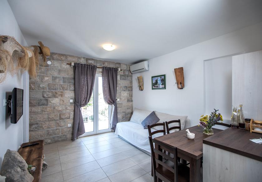 Interijer apartmana Bernardica u Slanom