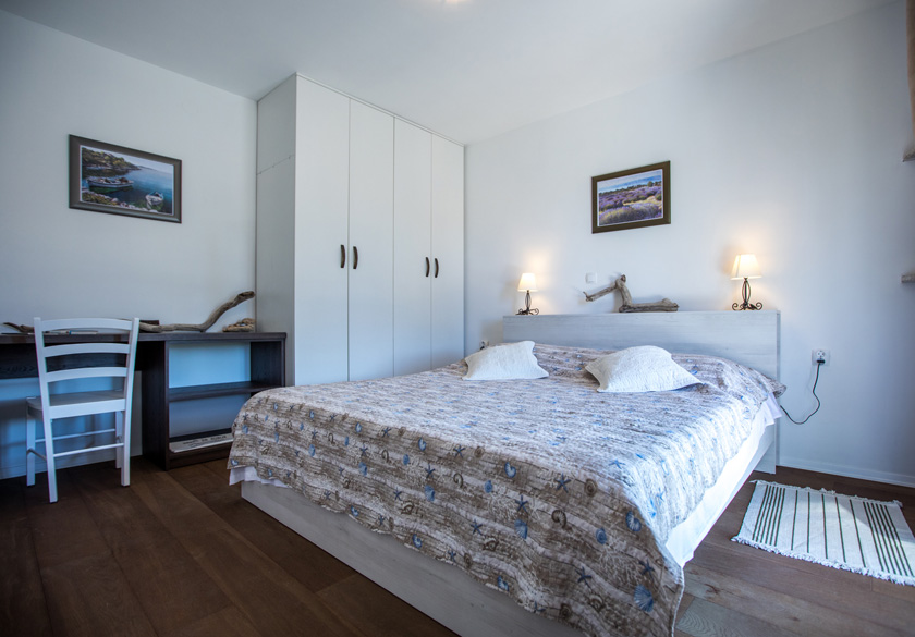 Spavaća soba u apartmanu Bernardica