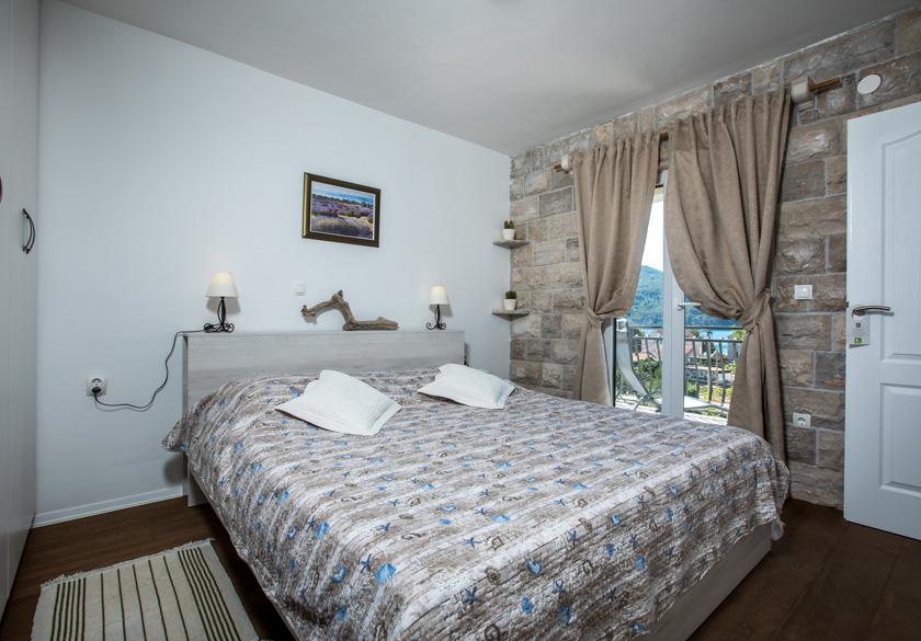 Apartman Bernardica spavaća soba Slano