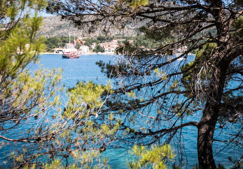 Slano Dubrovnik plaža