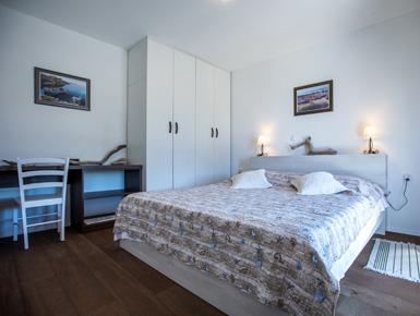 Spavaća soba  apartmana Bernardica