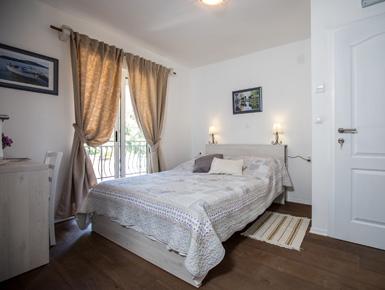 Spavaća soba  apartmana Marijan
